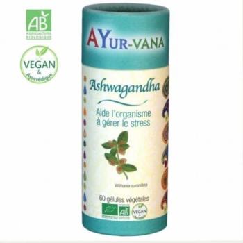Ashwagandha Bio - 60 gélules - Ayurvana
