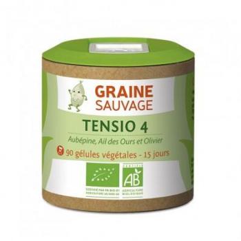 Tensio 4 Bio - Graine Sauvage - 90 Gélules