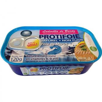 ProtiFoie de Morue - 120 g - De Bardo