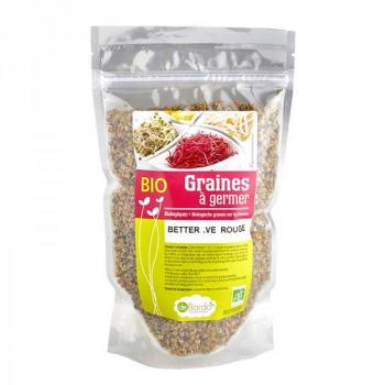 Graines à germer - Betterave Rouge BIO - 100 G - De Bardo