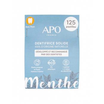 Dentifrice solide Menthe - 125 pastilles