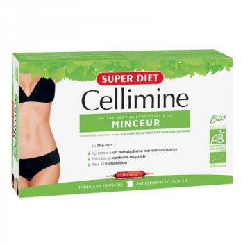 Cellimine Minceur Bio - 20 ampoules - Super Diet .