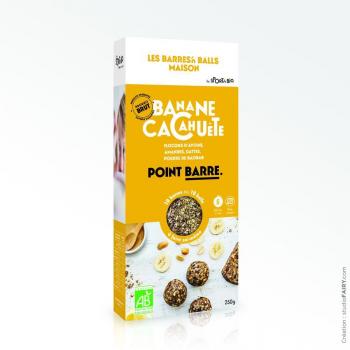 Kit Energy Ball Bio Maison - Banane Cacahuète - 250 g
