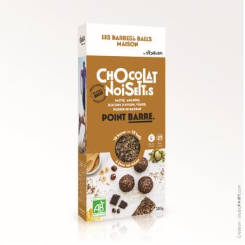 Kit Energy Ball Maison - Chocolat noisettes - 250 g