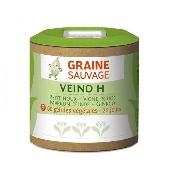 Veino H - 60 gélules - Graine Sauvage