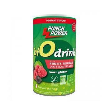 Biodrink Antioxydant Bio - Fruits Rouges - 500 g - Punch Power