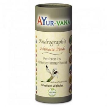 Andrographis - Echinacée d'Inde - 60 gélules - Ayur-vana .