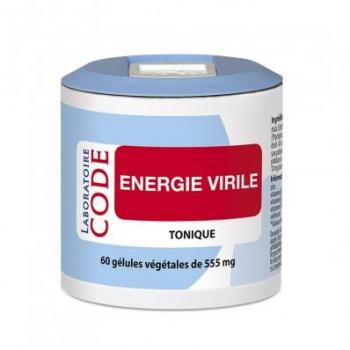 Energie virile - 60 gélules - Laboratoire Code