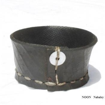 Porte savon - Noir d'éco pneu recyclé