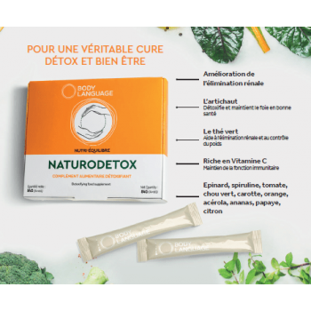 NATURODETOX Véritable cocktail de bien-être et détox