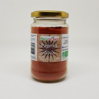 Paprika doux bio - 180g