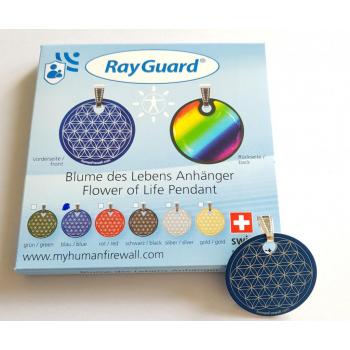 """RayGuard Pendentif """"Fleur de vie"""" 5G"""