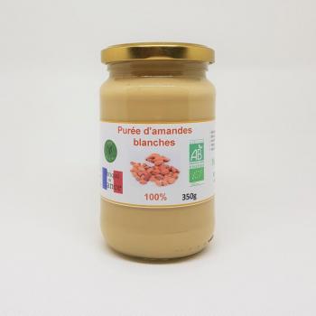 Purée d'amandes blanches bio - 350g