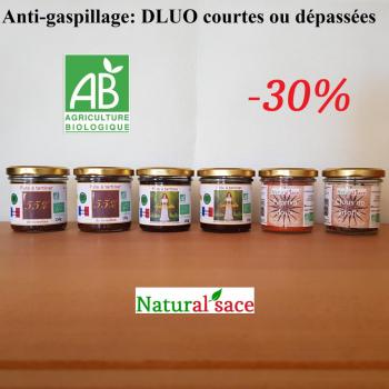 Pack anti-gaspillage (DLUO courtes ou dépassées) -30%