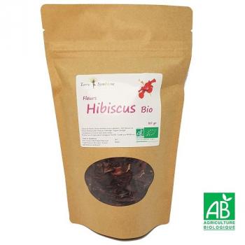 Fleurs d'Hibiscus BIO - 80 gr