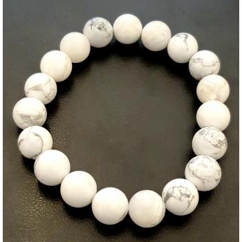 Bracelet HOWLITE 10mm