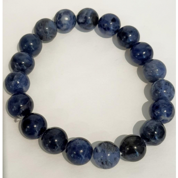 Bracelet AGATE BLEUE 10mm