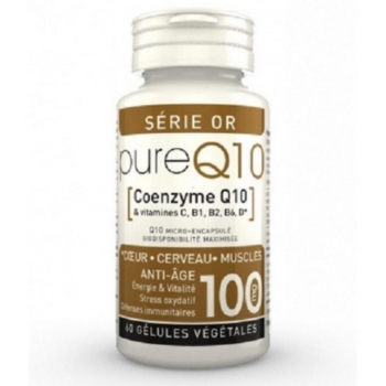 Pure Q10 - Coenzyme Q10 - LT Labo - 60 Gélules