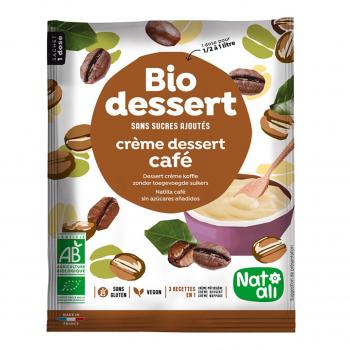 Biocrème café sans sucres ajoutés 1l bio - Nat-Ali