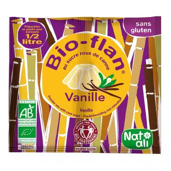 Bioflan entremet vanille 0,5l 30g bio - Nat-Ali