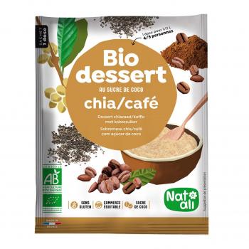 Préparation pour crème chia-café 60g bio - Nat-Ali