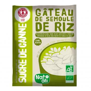 Préparation pour gâteau de semoule de riz sans gluten 75g bio - Nat-Ali