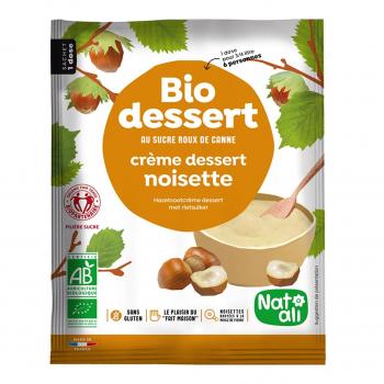 Préparation pour crème noisette 60g bio - Nat-Ali
