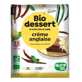 Préparation pour crème anglaise 60g bio - Nat-Ali
