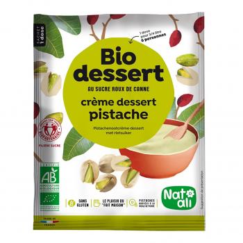 Préparation pour crème pistache 60g bio - Nat-Ali