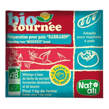 Préparation pour pain Biofournée sarrasin 35g bio - Nat-Ali