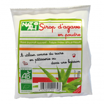 Sirop d'agave en poudre 200g bio - Nat-Ali