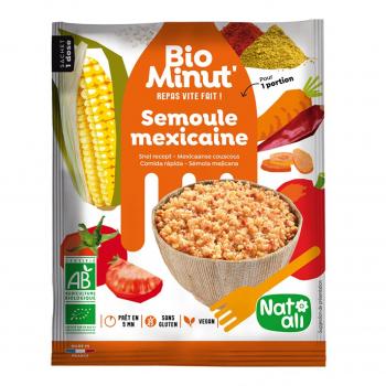 Bio minut' semoule mexicaine 80g bio - Nat-Ali