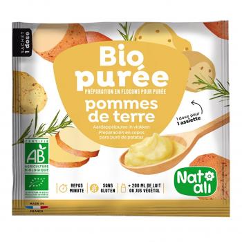 Purée de pomme de terre 30g bio - Nat-Ali