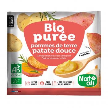 Purée de pomme de terre-patates douces 30g bio - Nat-Ali