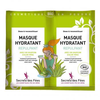 Masque visage Hydratant Repulpant 2x4,5gr bio - Secrets des Fées