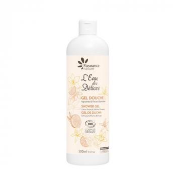 Gel douche eau des delices agrumes et fleurs blanches 500ml