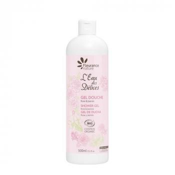 Gel douche eau des delices rose & jasmin 500ml