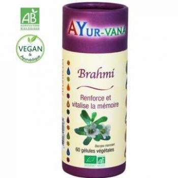 Brahmi BIO - Ayurvana - 60 gélules
