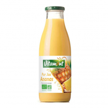 Jus d'Ananas Bio 0.75L-Vitamont