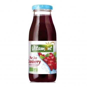 Pur jus de cranberry 50cl bio - Vitamont