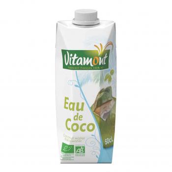 Eau de coco Tetra 50cl bio - Vitamont