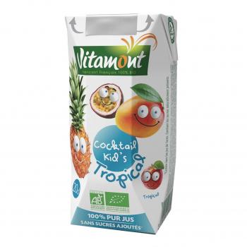 Cocktail kid's tropical Tetra 20cl bio - Vitamont