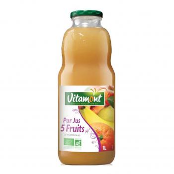 Cocktail 5 Fruits Bio 1L-Vitamont