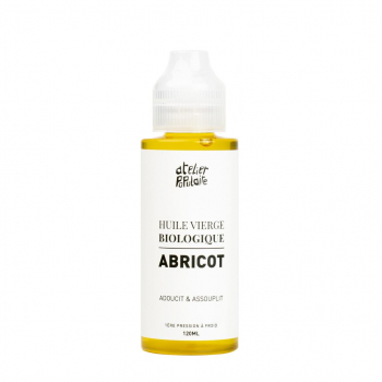 Huile vierge d'Abricot BIO - ATELIER POPULAIRE - 120ml
