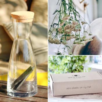 Coffret Découverte carafe | filtre à eau ⎥charbon de bambou naturel