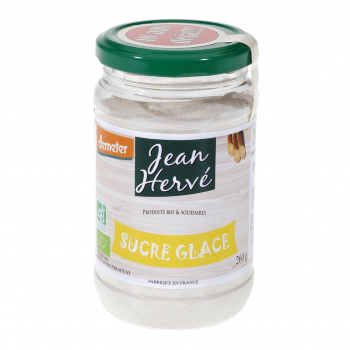 Sucre glace de canne roux Demeter 260g bio - Jean Hervé