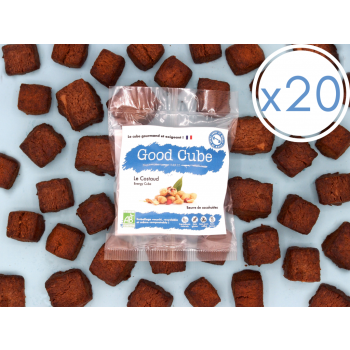 """x20 Sablés au beurre de cacahuètes """"Le Costaud"""" BIO - 20x 35g"""