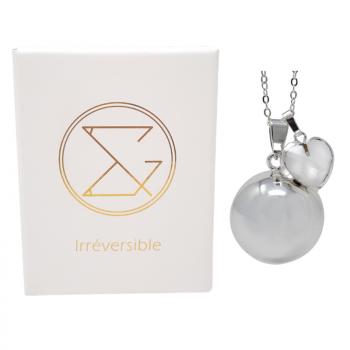 Bola de grossesse - Cœur Cristal de roche