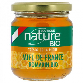 Miel de France Romarin Bio - 250 g - Boutique Nature