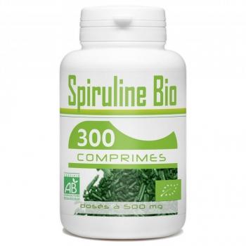 Spiruline Bio 500mg – 300 comprimés